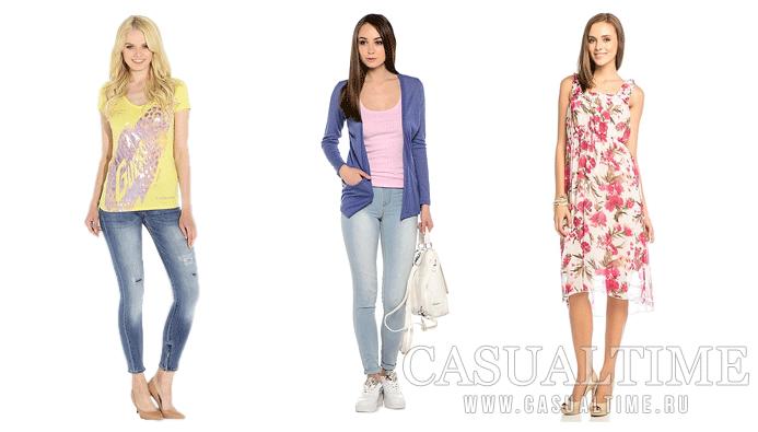 Летняя casual одежда для женщин