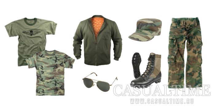 Одежда милитари