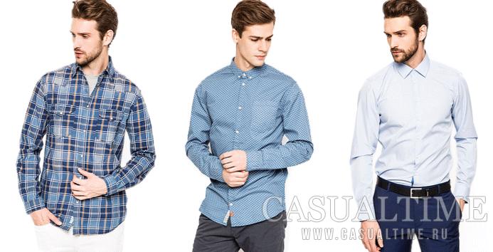 Типы воротников мужской сорочки