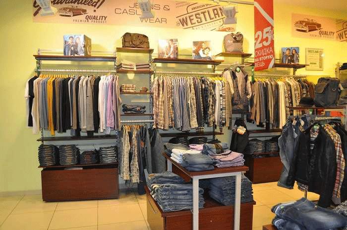 Магазин одежды Westland